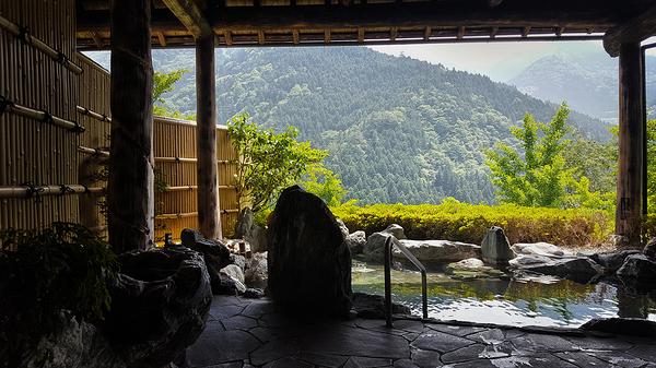 tokushima shikoku japan onsen bath mountain