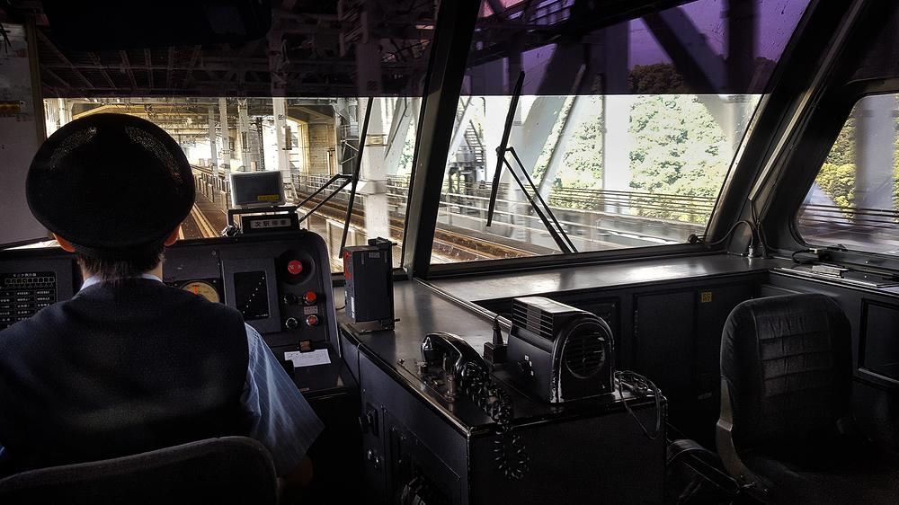 train shikoku seto-ohashi okayama bridge japan