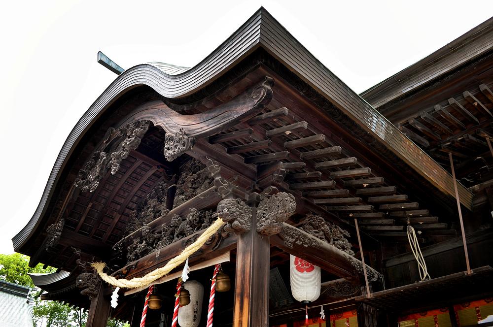 okayama japan shrine munetada-jinja