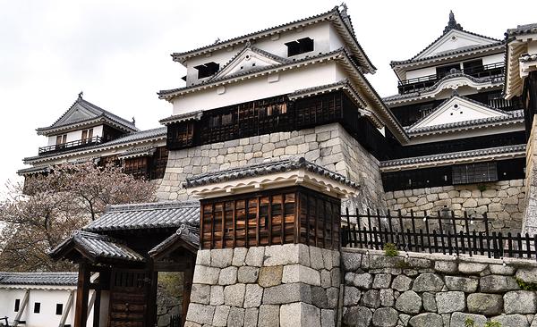 castle matsuyama shikoku japan
