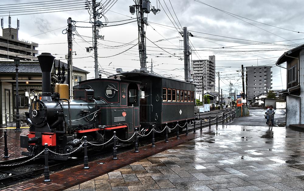 Matsuyama shikoku japan tram botchan