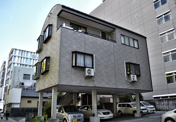kochi shikoku japan street house