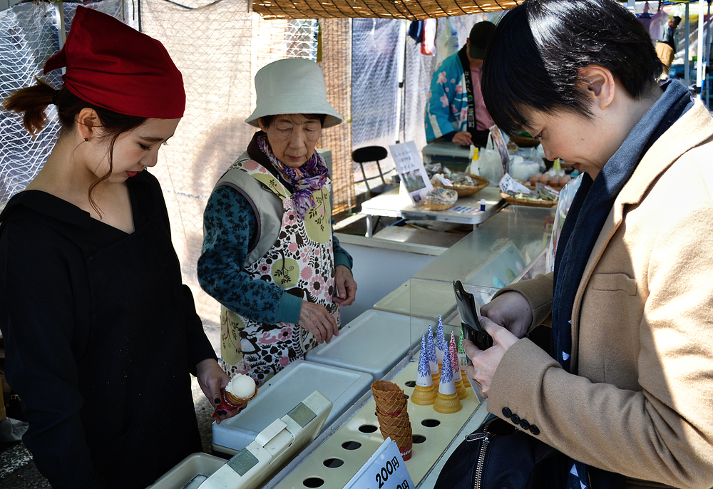 kochi shikoku japan mayumi ice-cream