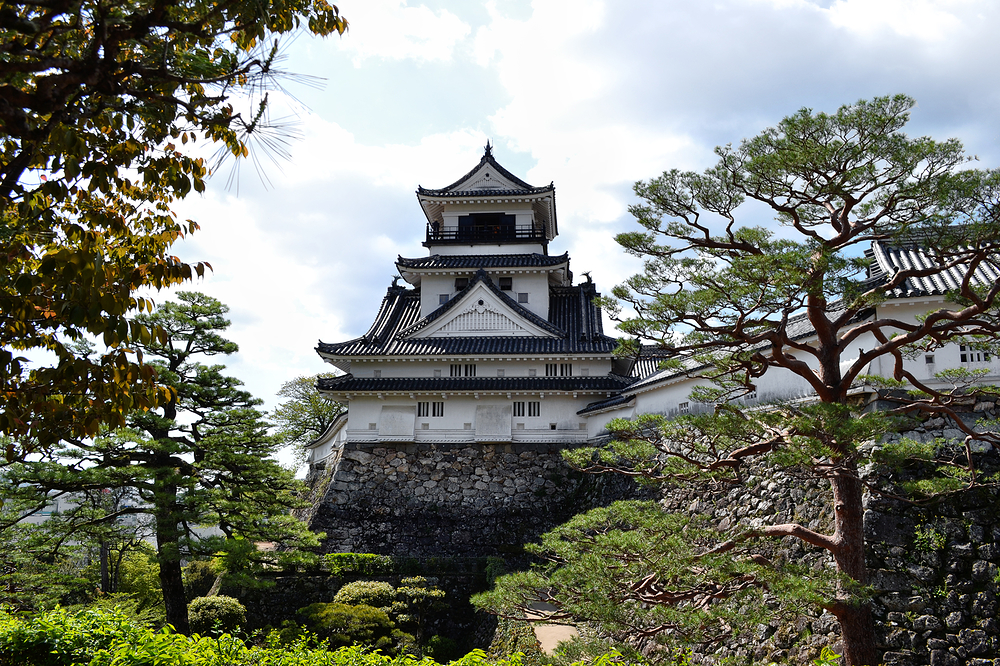 kochi castle shikoku japan