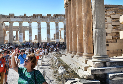 Athens Greece Acropolis Parthenon tourist
