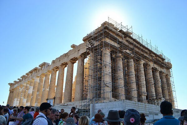 Athens Greece Acropolis Parthenon tourist