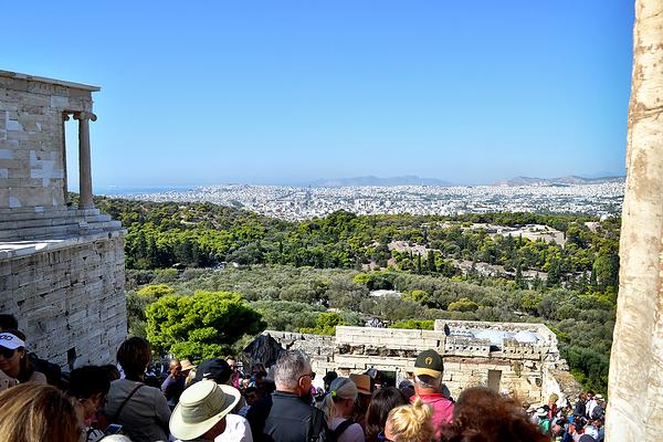athens greece acropolis city