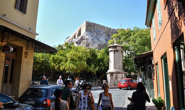 athens greece city acropolis tourist
