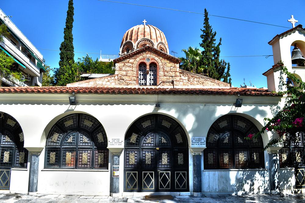 athens greece church
