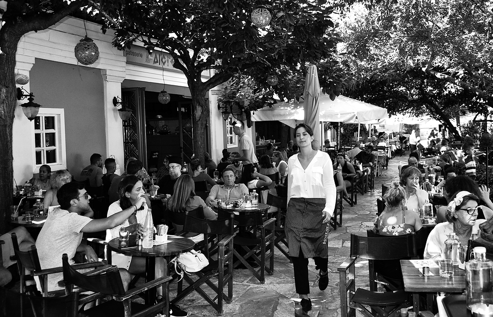 athens greece city tourist restaurant