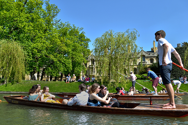 A Punt on the River Cam 3