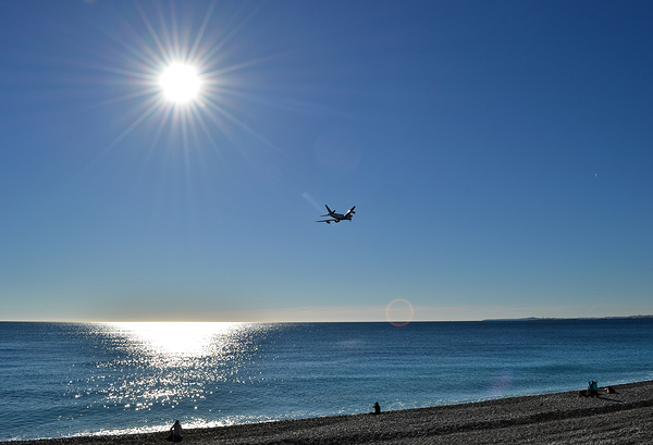 Arrival at Nice