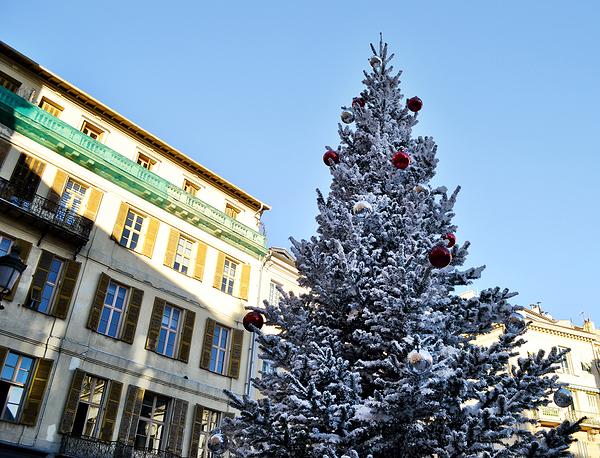 nice france christmas christmas-tree