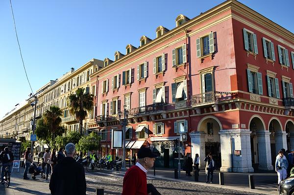 nice france street city
