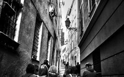 nice france street tourist