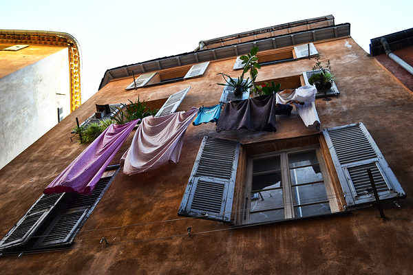 nice france street apartment washing