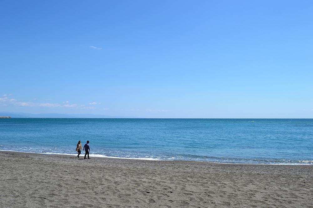 beach kochi katsurahama japan shikoku sea