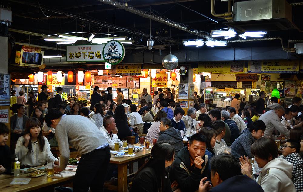 kochi japan shikoku hirome-market market