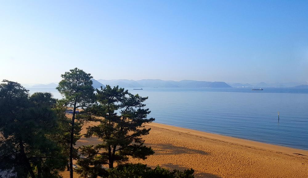 okayama japan shibukawa beach sea seto-naikai