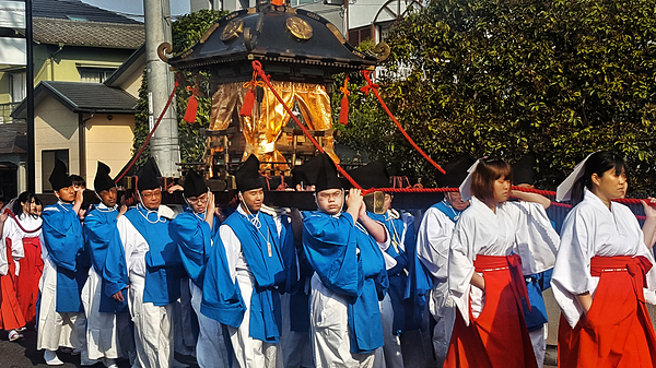 Goshinko Procession, Omoto