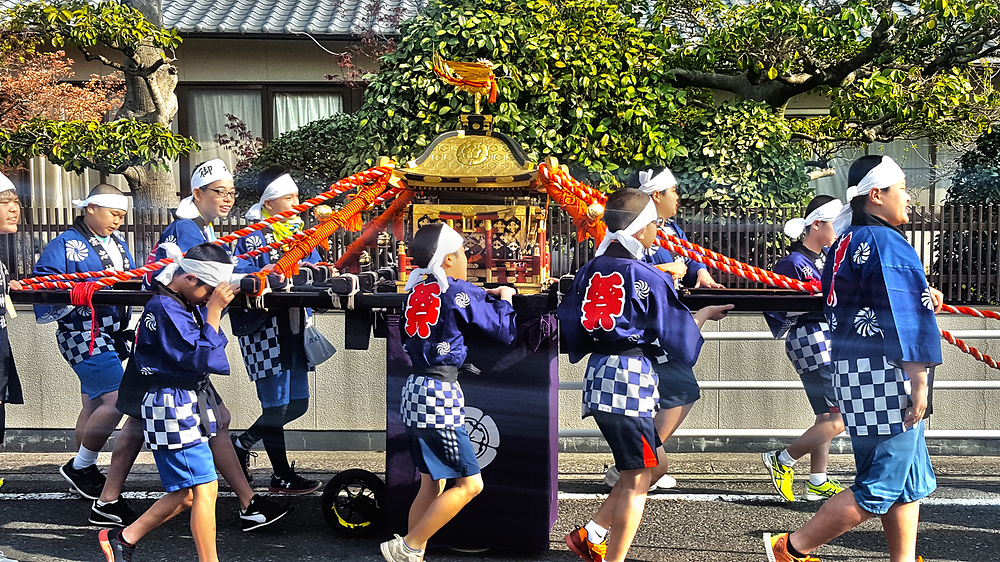 munetada-jinja shrine omoto okayama japan danjiri