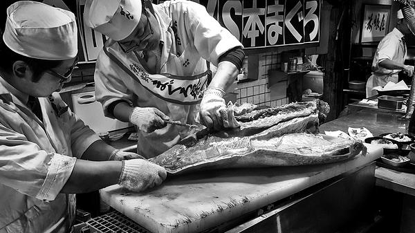 osaka japan izakaya tuna
