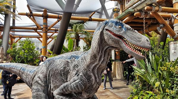 Universal Studios Japan: Jurassic Park 4