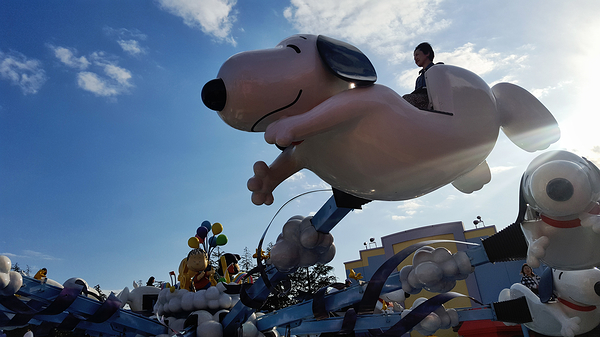 Universal Studios Japan: Snoopy Flight