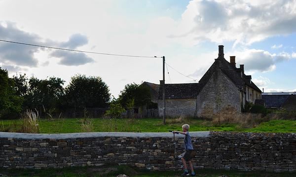 cotswolds england bledington house