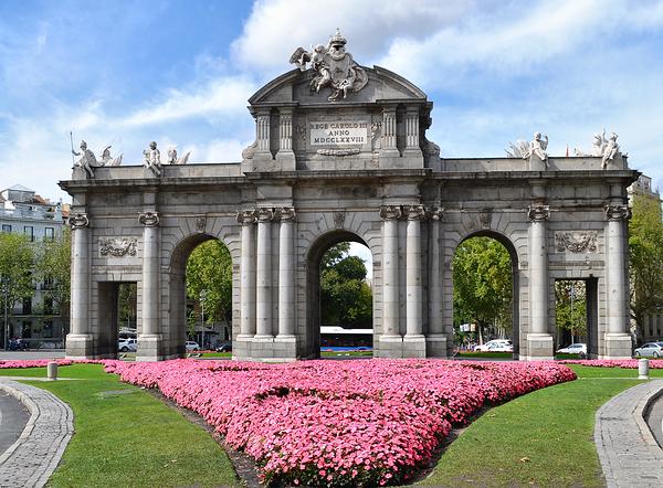 madrid spain Puerta-de-Alcalá