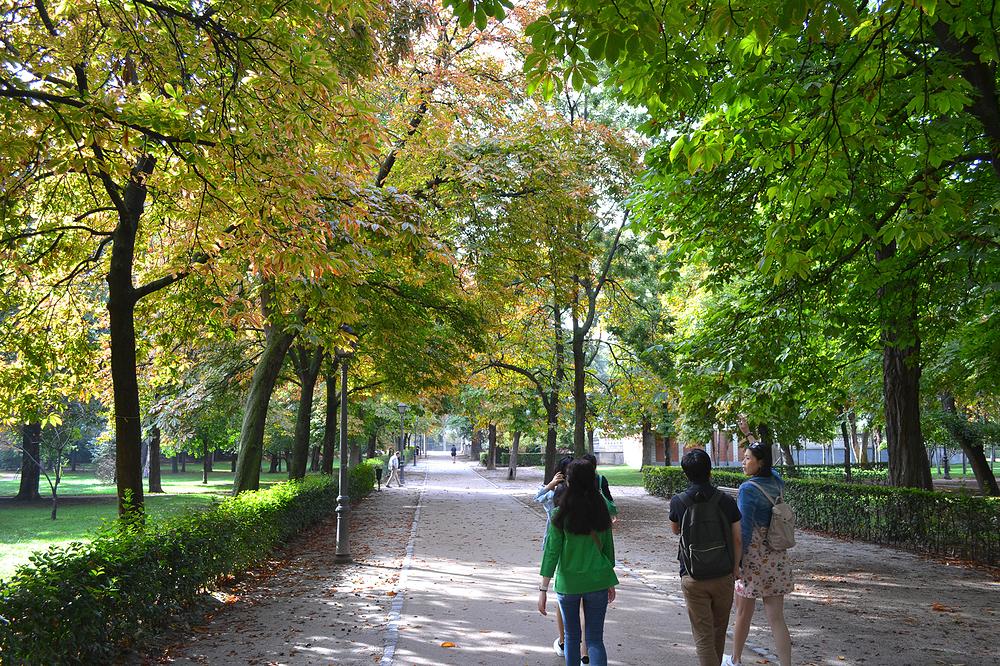 madrid spain tourist park Parque-de-El-Retiro
