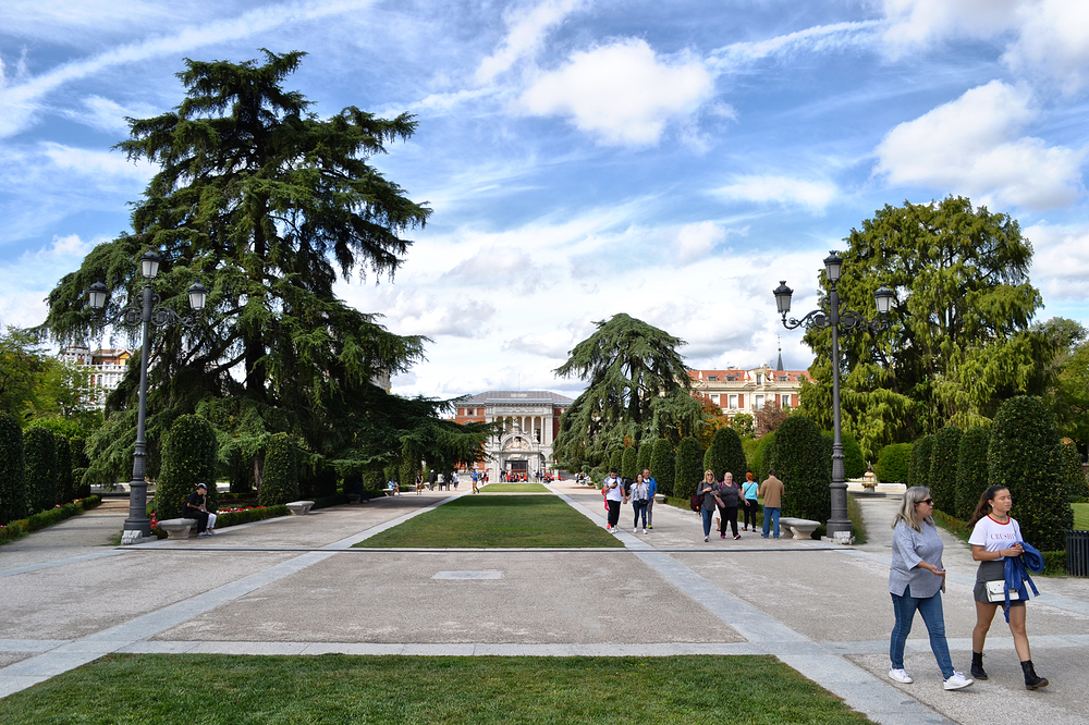 madrid spain park Parque-de-El-Retiro tourist