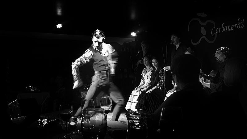 Las-Carboneras Madrid Spain flamenco dancer