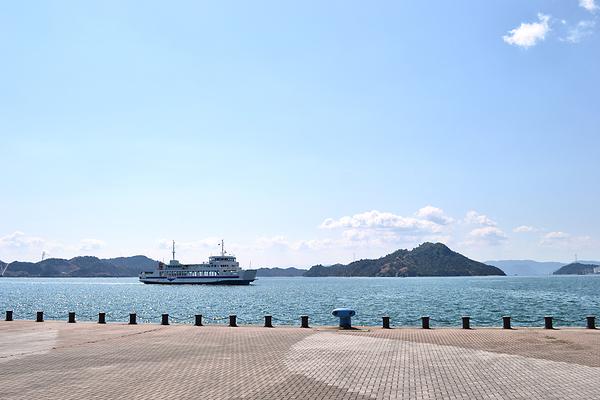 uno okayama japan seto-naikai sea ferry