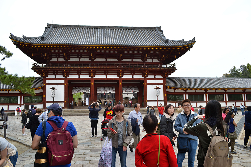 todaiji temple nara japan