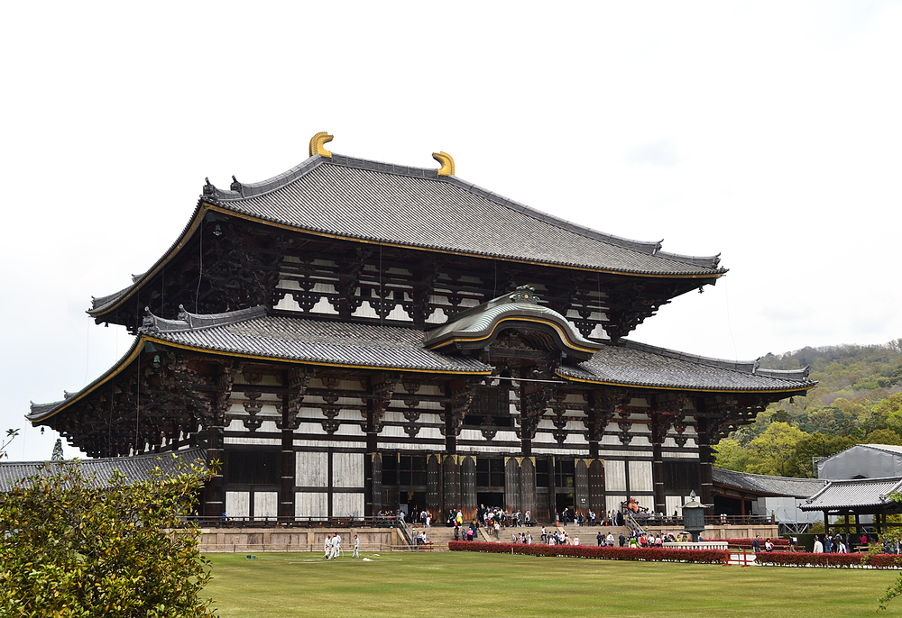 todaiji temple nara japan daibutsuden