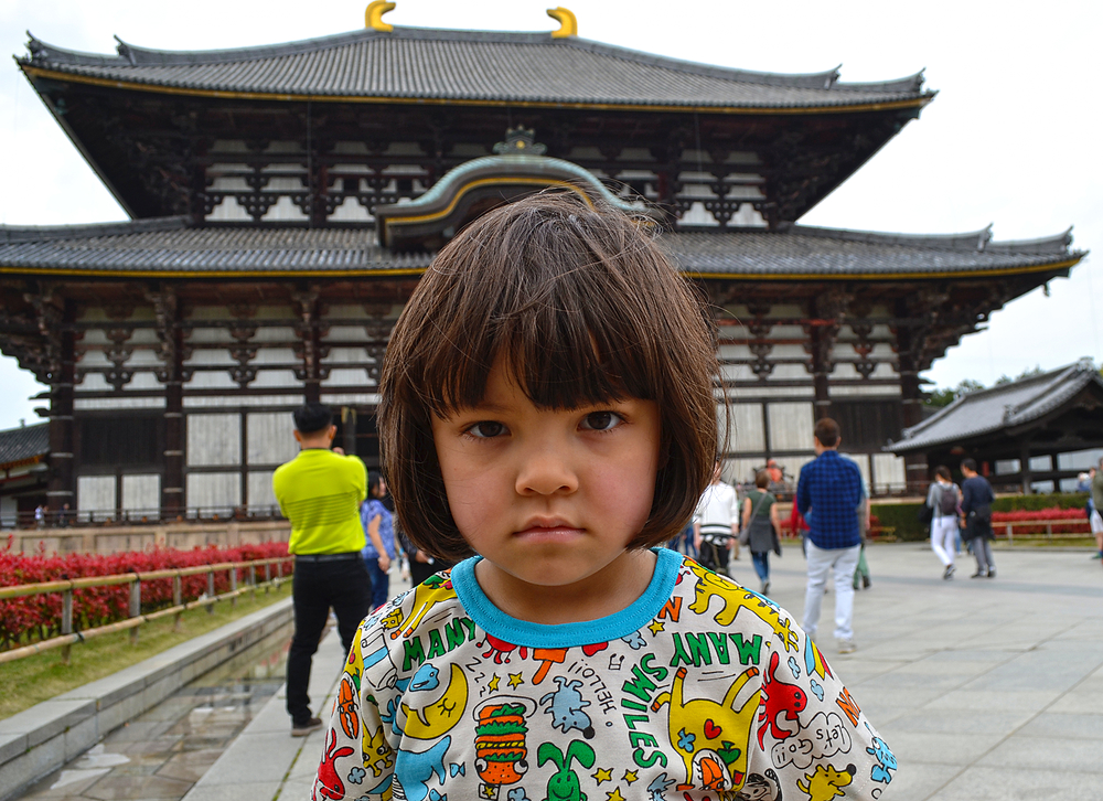 todaiji temple nara japan Mia daibutsuden
