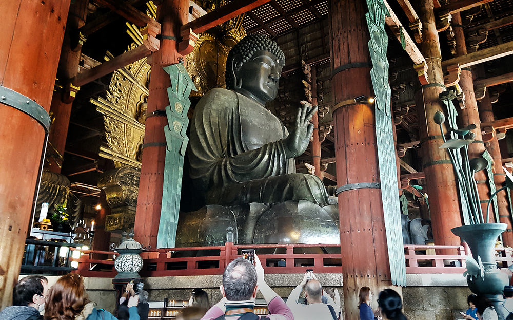 todaiji temple nara japan daibutsu buddha