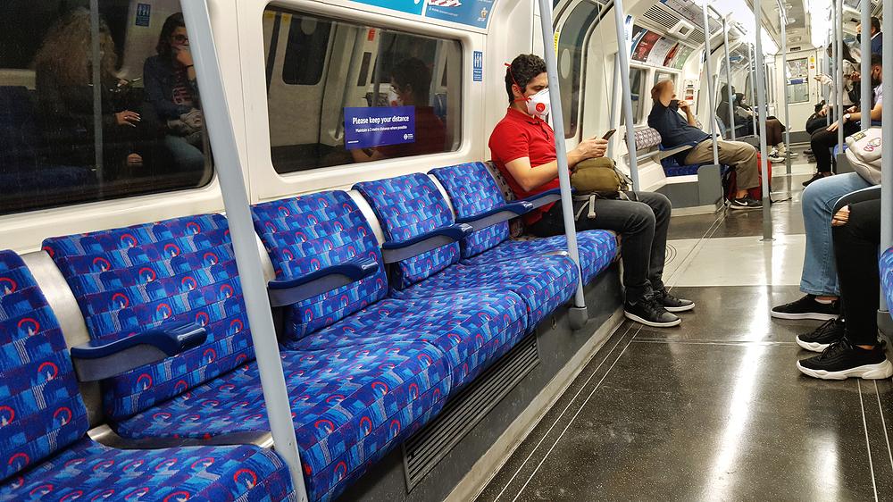 london england subway tube