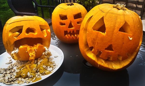 halloween pumpkin england worcester-park
