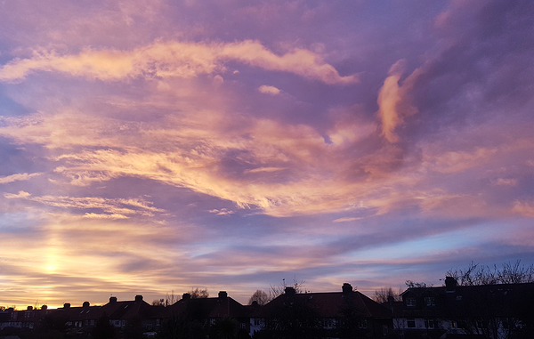 england worcester-park sunset cloud