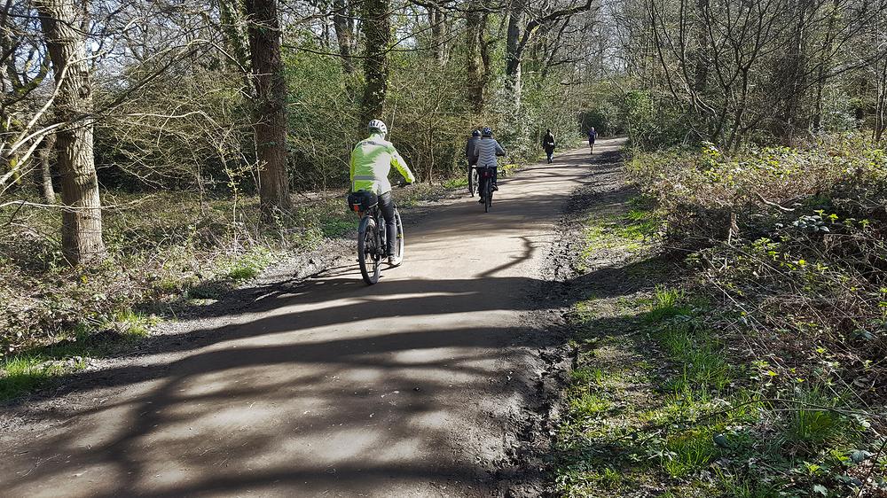 epsom epsom-common england bicycle park