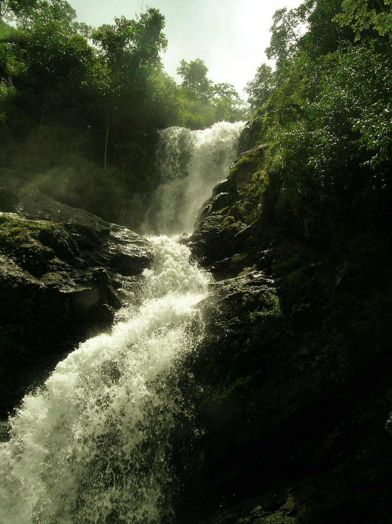 The Iruppu falls