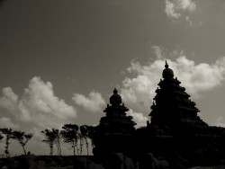 Shore temple of Mahabalipuram