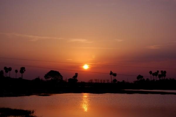 Sunset, OMR