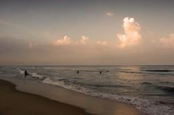 The Kottivakkam beach!