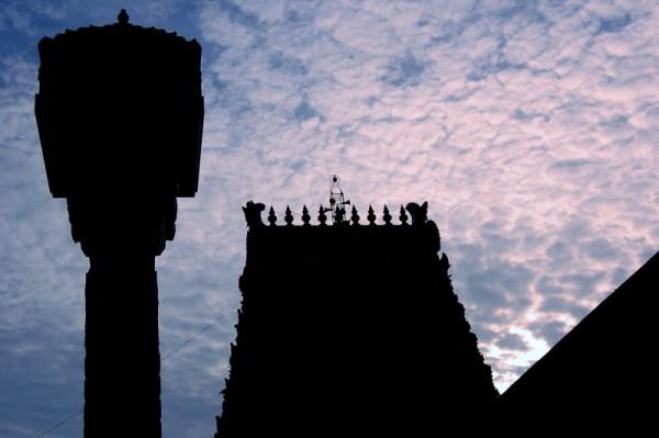 The Thirukadaiyur temple