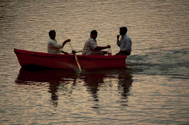 Rowing time at Yelagiri