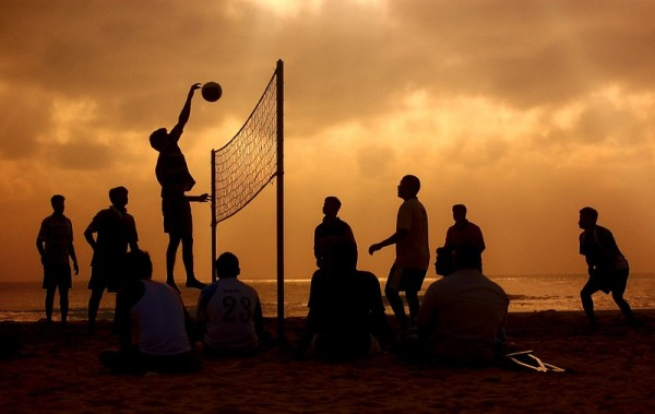 Game on... Beach Volleyball!