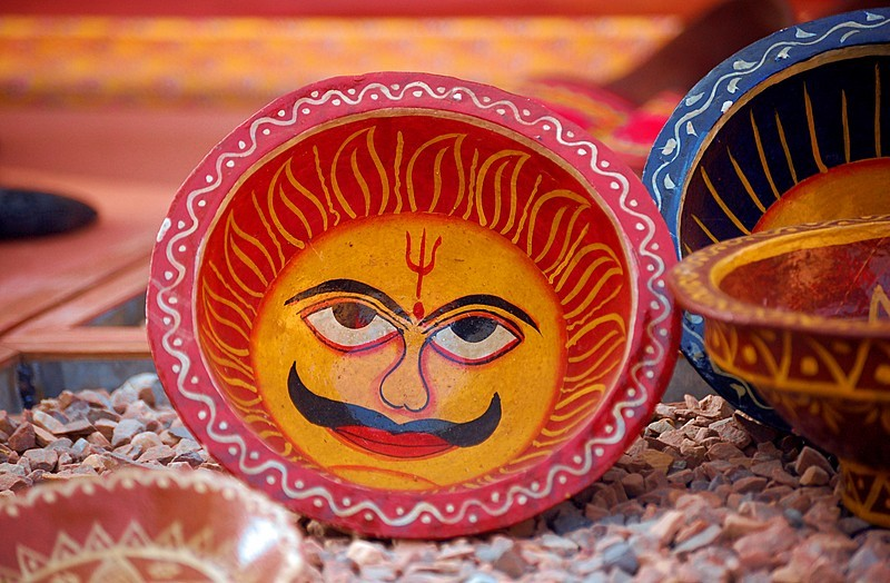 The Sun god on rest (Theme - Colours of India)